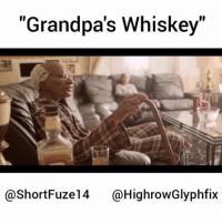 """Memes, Soon..., and 🤖: """"Grandpa's Whiskey""""  @ShortFuze14 @HighrowGlyphfix Check out how a young grandson becomes an elite spitter by taking a sip of his Grandfather's Whiskey. Make sure to go Follow @shortfuze14 & @highrowglyphfix 🙌🙌 More vids and skits coming soon.. Conceptzmusic.net Conceptz shortfuze highrowglyphfix classic"""