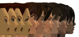 Graphics evolution of the Tomb Raider series.: Graphics evolution of the Tomb Raider series.