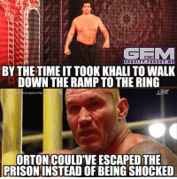 imjustgonnaleavethishere battleground wrestling prowrestling professionalwrestling meme wrestlingmemes wwememes wwe nxt raw mondaynightraw sdlive smackdownlive tna impactwrestling totalnonstopaction impactonpop boundforglory bfg xdivision njpw newjapanprowrestling roh ringofhonor luchaunderground pwg: GRAVITY. FORGOT.ME  BY THE TIME IT TOOK KHALI TO WALK  DOWN THE RAMP TO THE RING  ORTON COULD'VE ESCAPED THE  PRISONINSTEAD OF BEING SHOCKED imjustgonnaleavethishere battleground wrestling prowrestling professionalwrestling meme wrestlingmemes wwememes wwe nxt raw mondaynightraw sdlive smackdownlive tna impactwrestling totalnonstopaction impactonpop boundforglory bfg xdivision njpw newjapanprowrestling roh ringofhonor luchaunderground pwg