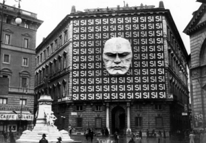 graynard: evilbuildingsblog: The headquarters of Mussolini's Italian Fascist Party (1934) *italian guy watching them build that* huh. thats probably fine : graynard: evilbuildingsblog: The headquarters of Mussolini's Italian Fascist Party (1934) *italian guy watching them build that* huh. thats probably fine