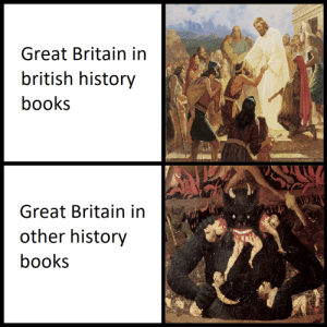 Books, History, and British: Great Britain in  british history  books  Great Britain in  other history  books Great Britain the devourer of lands