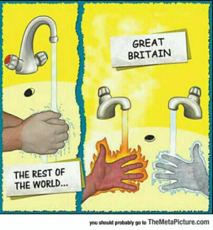 Struggle, Tumblr, and Blog: GREAT  BRITAIN  THE REST OF  THE WORLD...  you should probably go to TheMetaPicture.com lolzandtrollz:  Great Britain's Struggle