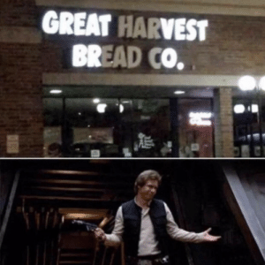 Bread, I Know, and Great: GREAT HARVEST  BREAD CO I know