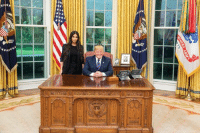 Kim Kardashian, Prison, and Kardashian: Great meeting with Kim Kardashian West today, talked about prison reform and sentencing.