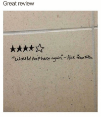 """@cabbagecatmemes are the dankest 🔥😂: Great review  """"would poop here again - Alex from Tilha @cabbagecatmemes are the dankest 🔥😂"""