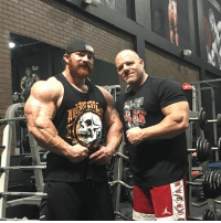 Great Y3T week 3 workout today with coach @neil_yoda_hill1 great change up with A lot of blood volume, dropsets, supersets, then some posing...... with a crazy pump! 💪🏻🙈 CountDownContinues Olympia212 MrOlympia FlexLewis NeilHill DragonsLair LairBoyz: Great Y3T week 3 workout today with coach @neil_yoda_hill1 great change up with A lot of blood volume, dropsets, supersets, then some posing...... with a crazy pump! 💪🏻🙈 CountDownContinues Olympia212 MrOlympia FlexLewis NeilHill DragonsLair LairBoyz