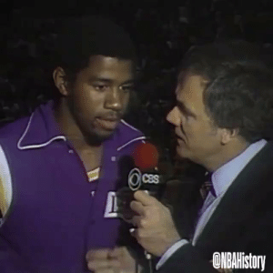 GREATEST FINALS PERFORMANCE EVER?  40 years ago today, Rookie Magic Johnson played center in place of injured Kareem Abdul-Jabbar.   42 PTS  14-23 FG 14-14 FT 15 REB 7 AST  3 STL 1 BLK  Won the 1st of 3 Finals MVP awards & 1st of 5 NBA championships! https://t.co/ZFcRckedea: GREATEST FINALS PERFORMANCE EVER?  40 years ago today, Rookie Magic Johnson played center in place of injured Kareem Abdul-Jabbar.   42 PTS  14-23 FG 14-14 FT 15 REB 7 AST  3 STL 1 BLK  Won the 1st of 3 Finals MVP awards & 1st of 5 NBA championships! https://t.co/ZFcRckedea