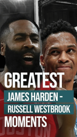 James Harden, Russell Westbrook, and James: GREATEST  JAMES HARDEN-  RUSSELL WESTBROOK  MOMENTS James Harden and Russell Westbrook are going to be an UNSTOPPABLE duo. 🔥