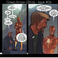 Imagine this on CW😂 Barry telling Ollie to hit the road Via: @boy.blunder flash theflash flashpoint barryallen grantgustin stephenamell arrow greenarrow oliverqueen flarrow dccomics dcrebirth justiceleague reverseflash: Green Arrow (2016)-Issue #26  WHAT  ARE YOU  POING HERE,  OLLIE?  YOU KNOW  I BET OTHER PEOPLE  ARE UNDER THE MISTAKEN  IMPRESSION YOU'RE A  NICE GuY.  LOOK  I'M  ON THE  ROAD  I'M HERE TO  INVESTIGATE  ANOMALIES IN  THE SPEED  FORCE  LITERALLY  WORKING  A CASE  MY  BUSINESS,  FLASH.  NEVER  REALLY SAW  ou GOING  NATIONAL. DON'T  YOUR LIMITED  ABILITIES LIMIT  YOUR SUPERHERO  ZIP CODE? Imagine this on CW😂 Barry telling Ollie to hit the road Via: @boy.blunder flash theflash flashpoint barryallen grantgustin stephenamell arrow greenarrow oliverqueen flarrow dccomics dcrebirth justiceleague reverseflash