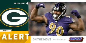 .@RapSheet: Packers expected to sign LB Za'Darius Smith (by @SNICKERS) https://t.co/oeLIGJGuyw: GREEN BAY  NEWS  ALERT  ON THE MOVE PRESENTED BY SNICKERS .@RapSheet: Packers expected to sign LB Za'Darius Smith (by @SNICKERS) https://t.co/oeLIGJGuyw