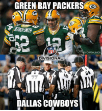 For a trip to the NFC Championship game…who's ready?!: GREEN BAY PACKERS  NFL  SPORTSHUMOR  DIVISIONAL  84  46  DALLAS COWBOYS For a trip to the NFC Championship game…who's ready?!