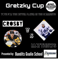 Back to Back, Memes, and National Hockey League (NHL): Gretzky Cup  NHL  OISCUSSION  ONHLDISCUSSION  VOTE FOR THE BETTER PLAYER IN THE COMMENTS  CROSBY  旦  87  丮  MATTHEWS  Presented by: Bandits Goalie Sc  BANDITS Round Two of the GretzkyCup starts with a bang! Vote for the better player! CROSBY or MATTHEWS ! The back-to-back Stanley Cup Champ, and 2016-17 Rocket Richard Award Winner, or the Rookie of the Year!!!?!! 🏒TAG ALL YOUR BUDS TO HELP YOUR PICK WIN!🏒 • Check out quality goalie content, @banditsgoaltending • NHLDiscussion Crosby Vote Matthews Poll Leafs Penguins StanleyCup MapleLeafs Toronto Pittsburgh