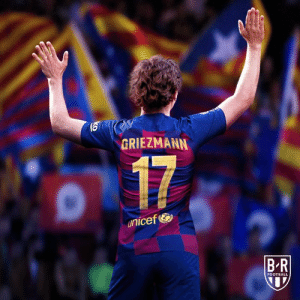 Football, Unicef, and New: GRIEZMANN  17  unicef  B-R  FOOTBALL Antoine Griezmann is officially Barcelona's new No. 17 🔵🔴