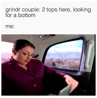 Twitter, Good, and Grindr: grindr couple: 2 tops here, looking  for a bottom  me: I'm SUCH a good person for helping those in need ❤️ (Twitter | james_lohan)
