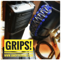 GRIPS!  WWW.KNOTTYDANa Get a grip on that new big ass tumbler you got for Christmas GRIPS! by Knotty Dan's yeti ozarktrail rtic tumbler grips makeparacordgreatagain