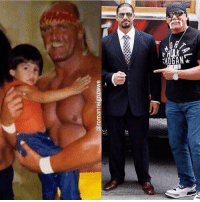 Roman Reigns & Hulk Hogan:   Then & Now.   ~Hero: Groman reignzwwe  IN  cs Roman Reigns & Hulk Hogan:   Then & Now.   ~Hero