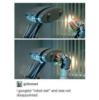 "grommet  i googled ""robot eat"" and was not  disappointed Nom.jpg - Max textpost textposts"