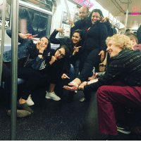 "Bad, Birthday, and Crying: GROND ST <p>Woman visiting NYC mentions her 40th to a friend, the entire train begins celebrating her and singing happy birthday. Crying tears of joy, &ldquo;I was told people are bad here&rdquo; via /r/wholesomememes <a href=""http://ift.tt/2mzImTx"">http://ift.tt/2mzImTx</a></p>"