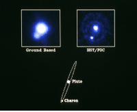 """<p><a href=""""http://pictures-of-space.tumblr.com/post/149483969097/first-views-of-pluto-the-following-information-was"""" class=""""tumblr_blog"""">pictures-of-space</a>:</p>  <blockquote><h2>  First Views of Pluto</h2><p>The following information was published along with the image in 1990, prior to Pluto having been stripped of its title as a planet…</p><p>  <a href=""""http://t.umblr.com/redirect?z=http%3A%2F%2Fstar-gazing.net&amp;t=YjdjODZlZmQ0ZTYzMWVjNWE5NDBmZDE1MTVjMWRjZjhiODk4M2I0OCx4Wlh5ZjJYUg%3D%3D"""">For more information visit our webpage here </a>  <br/></p></blockquote>: Ground Baged  HST/F00  Pluto  Charon <p><a href=""""http://pictures-of-space.tumblr.com/post/149483969097/first-views-of-pluto-the-following-information-was"""" class=""""tumblr_blog"""">pictures-of-space</a>:</p>  <blockquote><h2>  First Views of Pluto</h2><p>The following information was published along with the image in 1990, prior to Pluto having been stripped of its title as a planet…</p><p>  <a href=""""http://t.umblr.com/redirect?z=http%3A%2F%2Fstar-gazing.net&amp;t=YjdjODZlZmQ0ZTYzMWVjNWE5NDBmZDE1MTVjMWRjZjhiODk4M2I0OCx4Wlh5ZjJYUg%3D%3D"""">For more information visit our webpage here </a>  <br/></p></blockquote>"""