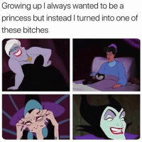 Growing Up, Relationships, and Princess: Growing up l always wanted to be a  princess but instead I turned into one of  these bitches