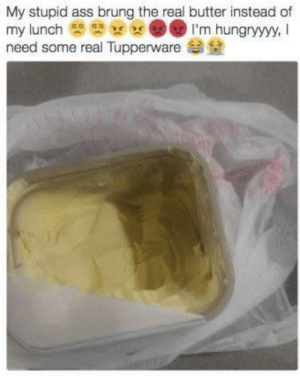 Growing up Latino and being used to everything being in butter bowls lol: Growing up Latino and being used to everything being in butter bowls lol