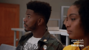 Target, Tumblr, and Blog: grown-ish  WEDNESDAYS n  ON  FREEFORM sseureki:THIS SCENE BROKE MY HEART