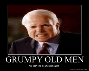 Old man Memes: GRUMPY OLD MEN  You won't like me when i'm angry!  CreateFunnyPhotos.com Old man Memes