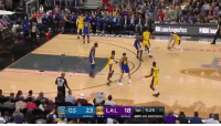 """Sports, Steph Curry, and Curry: Gs 23 LAL 18 ist 5:25 he  LAZ  BONUS TO: LaVar Ball: """"Lonzo Ball is better than Steph Curry.""""  Lonzo: https://t.co/pkjdVYWHW1"""