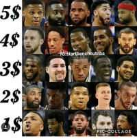 You have $15 who is your starting 5? 🤔 - Follow @Sportzmixes For More! 🏀 - dubai cute love crazy doubletap: Gstartbencheutnba  3$  PIC COLLAGE You have $15 who is your starting 5? 🤔 - Follow @Sportzmixes For More! 🏀 - dubai cute love crazy doubletap