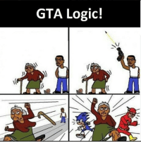 Logic, Indonesian (Language), and Gta: GTA Logic!