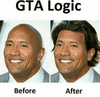 Logic, Memes, and 🤖: GTA Logic  Before  After ~Jo