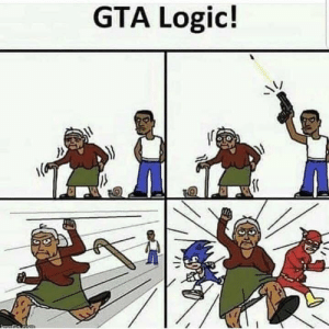 Logic, Reddit, and Gta: GTA Logio! GTA logic