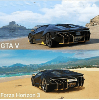 Which looks better?: GTA V  Forza Horizon 3 Which looks better?