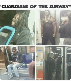 Memes, Subway, and Guardians of the Galaxy: GUARDANS OF THE SUBWAY Who needs guardians of the galaxy when you have these guys? via /r/memes https://ift.tt/2DNh2OX