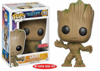 Memes, Pop, and Target: GUARDIANS  ONLY ATO  GROOT  10' SUPER SIZED POP NEW 10 Inch Super Sized Target Exclusive Groot Funko Pop! in the Guardians Of The Galaxy Vol. 2 series. Coming soon!