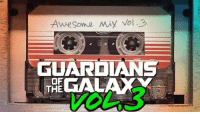 """James Gunn says the music for Awesome Mix Vol. 3 """"is pretty much all done and picked out.""""  http://bit.ly/2r5PspO  (SavedSlayer): GUARDIANS  THE James Gunn says the music for Awesome Mix Vol. 3 """"is pretty much all done and picked out.""""  http://bit.ly/2r5PspO  (SavedSlayer)"""