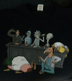 Gucci, Tumblr, and Archer: gucci-flipflops:  rick drinkin everybody under the table  the only nigga competing with rick is archer