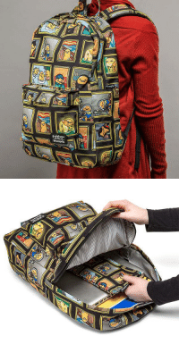 Tumblr, Blog, and Com: gudetama   %  1 awesomage:  Museum of Gudetama Print Backpack
