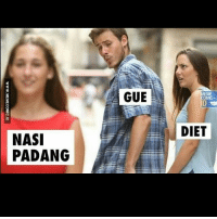 Dieting, Diet, and Indonesian (Language): GUE  DIET  NASI  PADANG