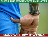 Can you guess the answer?: GUESS THIS WOMEN'S TEAM PLAYER  MANY WILL GET IT WRONG Can you guess the answer?