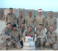 Guess which one is me? My squad Christmas 2005- Iraq: Guess which one is me? My squad Christmas 2005- Iraq