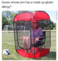 Memes, Guess, and Super: Guess whose son has a made up glutern  allergy? Super sensitive little guy via /r/memes https://ift.tt/2DS9yIS