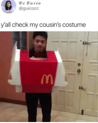 Memes, 🤖, and Unreal: @guicocc  y'all check my cousin's costume The transformation is unreal