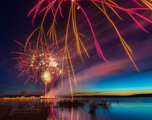 My dad TAP of some fireworks on Canada Day: Gulleney  PH OTOGRAPHY My dad TAP of some fireworks on Canada Day