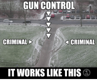 Memes, Control, and 🤖: GUN CONTROL  CRIMINALD  CRIMINAL  IT WORKS LIKE THIS (LC)