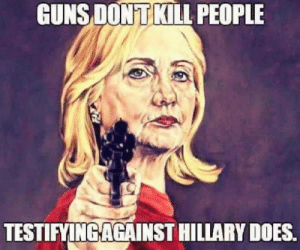 """Apparently, Bill Clinton, and Conway: GUNS DONT KILL PEOPLE  TESTIFYINGAGAINST HILLARY DOES. THE CLINTON DEAD POOL  1- James McDougal – Clintons convicted Whitewater partner died of an apparent heart attack, while in solitary confinement. He was a key witness in Ken Starr's investigation.  2 – Mary Mahoney – A former White House intern was murdered July 1997 at a Starbucks Coffee Shop in Georgetown .. The murder …happened just after she was to go public w:th her story of sexual harassment in the White House.  3 – Vince Foster – Former White House counselor, and colleague of Hillary Clinton at Little Rock's Rose Law firm. Died of a gunshot wound to the head, ruled a suicide.  4 – Ron Brown – Secretary of Commerce and former DNC Chairman. Reported to have died by impact in a plane crash. A pathologist close to the investigation reported that there was a hole in the top of Brown's skull resembling a gunshot wound. At the time of his death Brown was being investigated, and spoke publicly of his willingness to cut a deal with prosecutors. The rest of the people on the plane also died. A few days later the Air Traffic controller commited suicide.  5 – C. Victor Raiser, II – Raiser, a major player in the Clinton fund raising organization died in a private plane crash in July 1992.  6 – Paul Tulley – Democratic National Committee Political Director found dead in a hotel room in Little Rock , September 1992. Described by Clinton as a """"dear friend and trusted advisor"""".  7 – Ed Willey – Clinton fundraiser, found dead November 1993 deep in the woods in VA of a gunshot wound to the head. Ruled a suicide. Ed Willey died on the same day his wife Kathleen Willey claimed Bill Clinton groped her in the oval office in the White House. Ed Willey was involved in several Clinton fund raising events.  8 – Jerry Parks – Head of Clinton's gubernatorial security team in Little Rock .. Gunned down in his car at a deserted intersection outside Little Rock Park's son said his father was buildin"""
