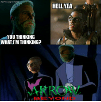 Batman, Arrow, and Justice League: Gustee lcage.mew  HELL YEA  YOU THINKING  WHAT IM THINKING  BEYOND *batman beyond theme plays* ~Green Arrow