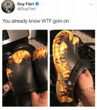 Dank, Guy Fieri, and Wtf: Guy Fieri  @GuyFieri  You already know WTF goin on Need to cop me some
