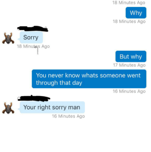 Guy TKed me and genuinely was sorry: Guy TKed me and genuinely was sorry