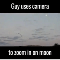 repost @neil.degrasse What a time to be alive. neildegrassetyson: Guy uses camera  to zoom in on moon repost @neil.degrasse What a time to be alive. neildegrassetyson